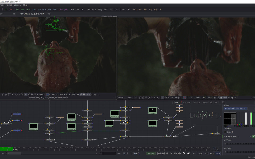 CG Society article on Trick Digital's VFX on You Might Be the Killer