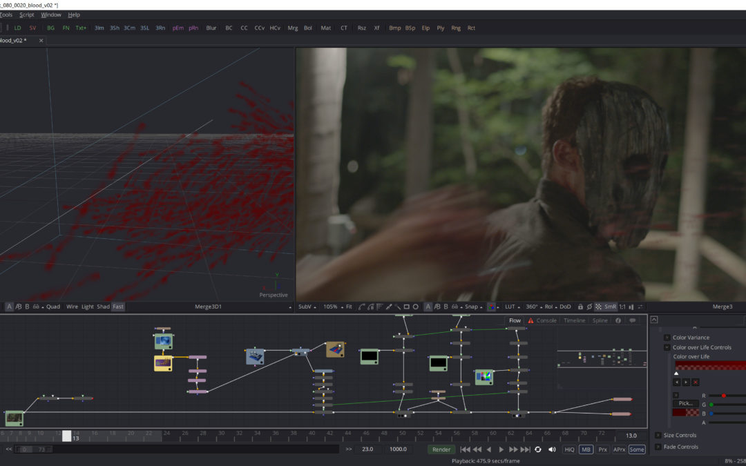 Production Hub Q&A on You Might Be the Killer VFX!