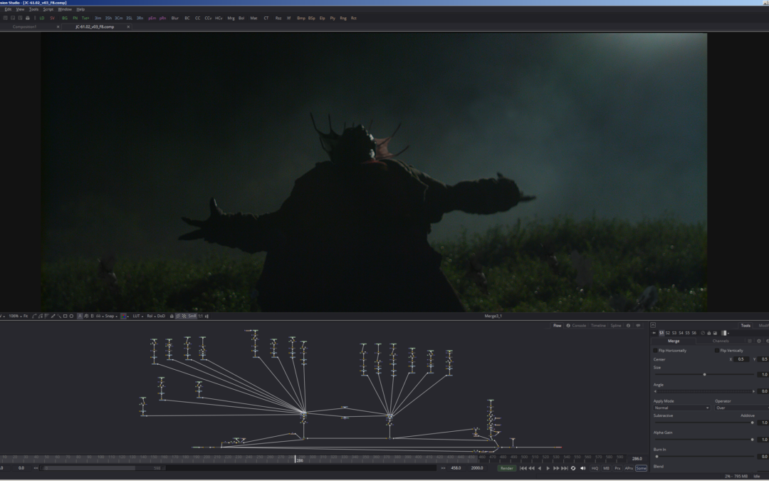 ARTSTATION Magazine covers Trick Digital's work on Jeepers Creepers 3