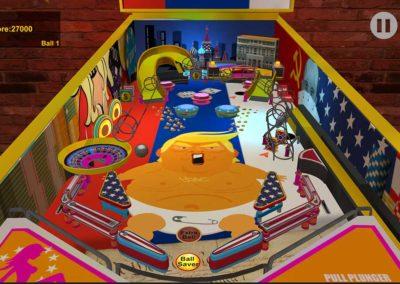 Baby Trump Pinball