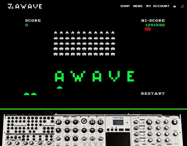 Awave Game & Website