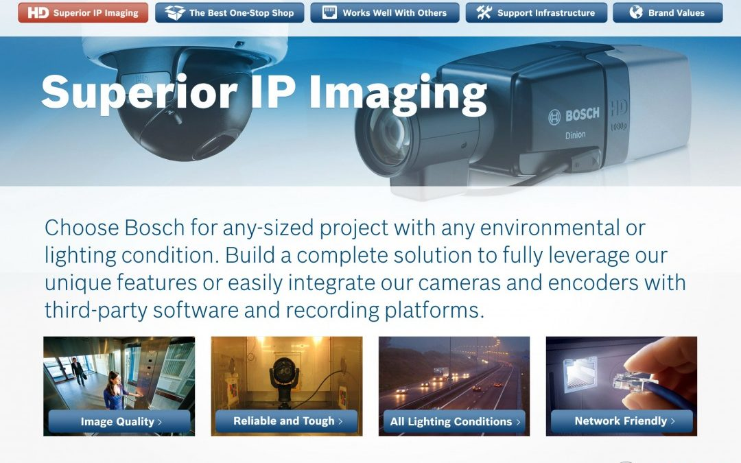 Bosch IP Imaging App