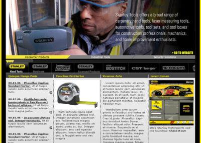 Stanley Global Website