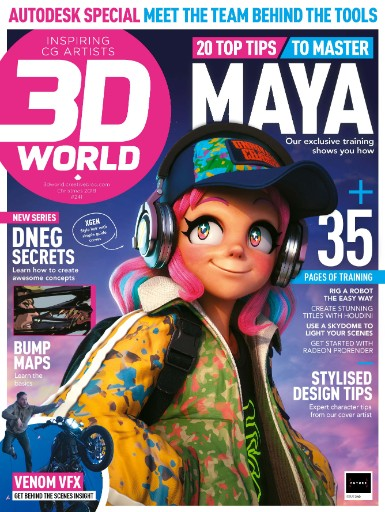 3D World Magazine Covers Trick Digital's VFX on The Last Movie Star