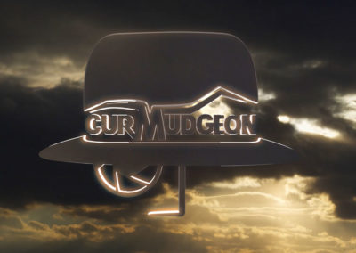 Curmudgeon Films Logo 3D Animation