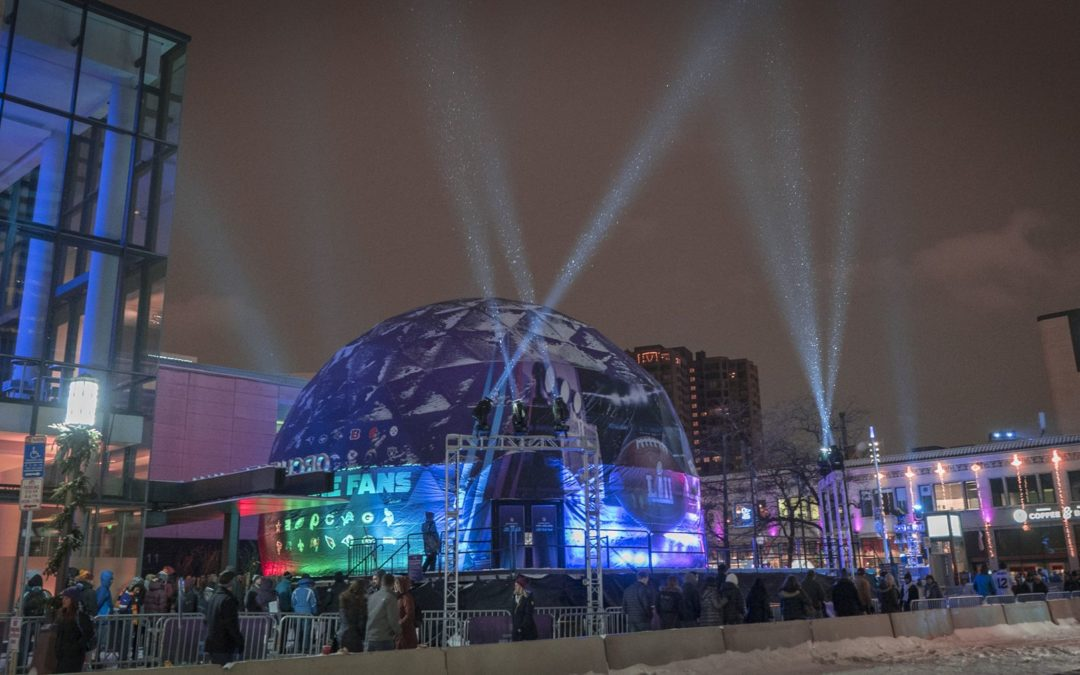 Super Bowl LII Dome VR